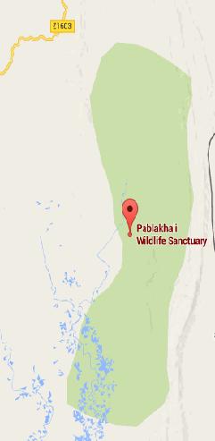 Map of Pablakhali Wildlife Sanctuary